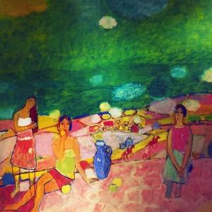 Выставка «Светлый май – диалог Русского и Китайского художников» в Китайском культурном центре