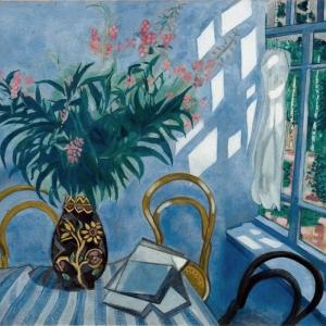 М.Шагал. Интерьер с цветами. Музей-квартира И.И.Бродского.