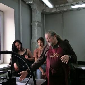18-20 мая 2017 года. Российская академия художеств Научно-практическая конференция «Проблемы печатной графики». Мастер-классы в Доме творчества «Сенеж»