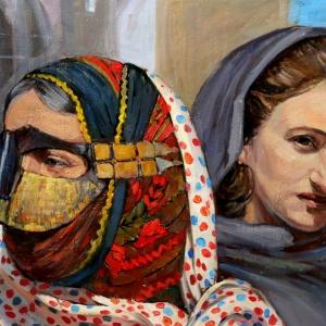 П.В. Илюшкина. Иран. Мать и дочь. 2016