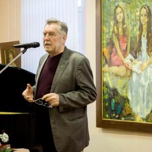 Выставка произведений Владимира Соковнина в Вологде.
