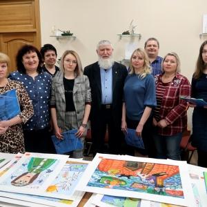 Международный конкурс детского художественного творчества «Снегири» в Красноярске.