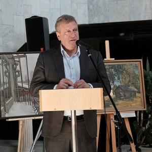 XIII всероссийский «Васнецовский пленэр – 2018» открылся в Вятском художественном музее.