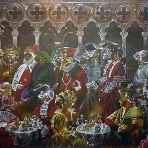 «Как прекрасен этот мир». Выставка работ Валерия и Елены Ржевских в Звёздном городке.