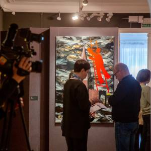 Выставка произведений Игоря Новикова в рамках фестиваля «Art non-stop» в Ярославле