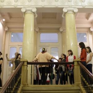 Выездная преддипломная практика 2017 года студентов Института имени И.Е.Репина на базе Российской академии художеств