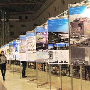 Конкурсные работы студентов архитектурных колледжей и ВУЗов представлены на фестивале Зодчество-14
