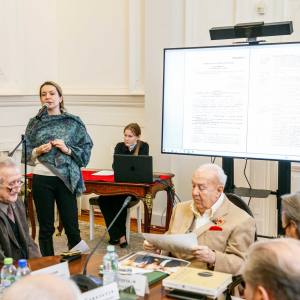 На заседании Президиума РАХ 16 марта 2021 года