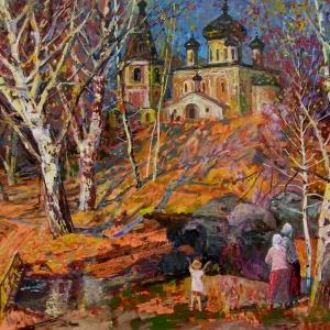 Выставка «О Родине», приуроченная к юбилею почетного члена РАХ В.А.Сафронова.