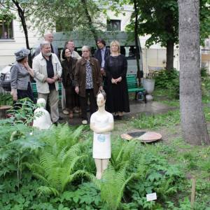 «Женский взгляд». Выставка произведений Наталии Бодриковой во дворике РАХ.