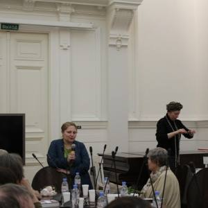 Презентация альманаха «Панорама искусств» в Белом зале РАХ