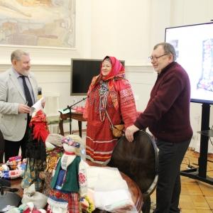 Круглый стол и мастер-класс «Народная тряпичная кукла Липецкой области» в РАХ