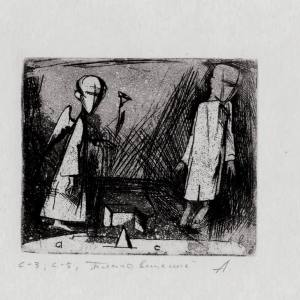 Выставка «Казанский палимпсест»: искусство современной гравюры Татарстана представлено в Италии.