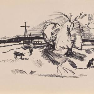 Эдуард Штейнберг «Если в колодце живет вода...» в ММОМА