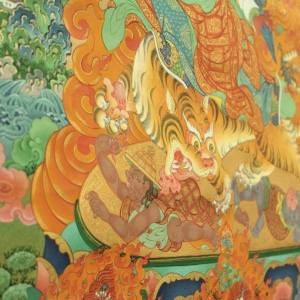 «Живопись танка. Медитация и философия Востока». Выставка произведений Николая Дудко в МВК РАХ