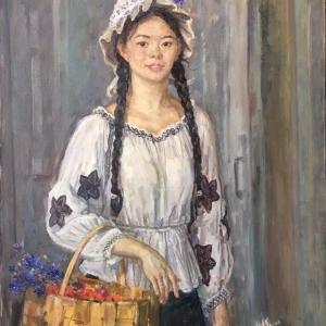 Выставка произведений Валерия Леднёва в Циндао (КНР).