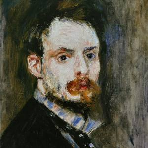 Ренуар. Автопортрет. 1875.