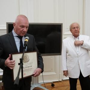 На заседании Президиума Российской академии художеств 6 сентября 2016 года