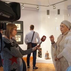 Выставка «Лика Церетели. Личное пространство» в Липецке.