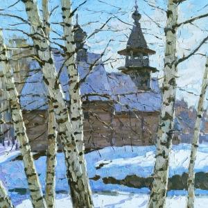 «К истокам». Выставка произведений Василия и Натальи Кураксы в Череповце