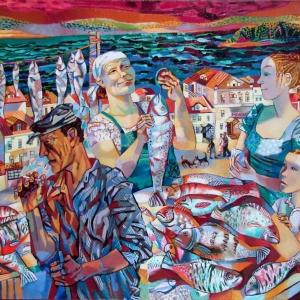 «Где сходятся параллели…» Выставка произведений Ольги Трушниковой и Сергея Манцерева