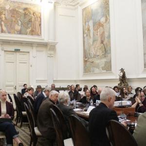 05.04.2019. Российская академия художеств. Конференция «Современная архитектура: кто её создает?»