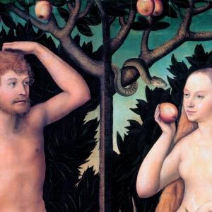 Мастер-класс В.Г.Калинина и Л.А.Давыдовой «История Адама и Евы» в МВК РАХ
