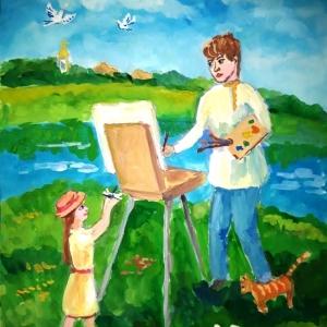 Заседание жюри III Международного Фестиваля изобразительного искусства «Дадим шар земной детям!»