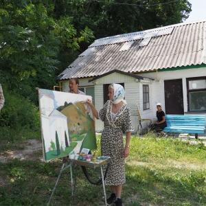 VII Всероссийский студенческий пленэр «На родине И.Н. Крамского» в Воронежской области
