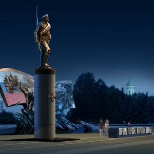мемориал, посвященный героям Первой мировой  в мемориал, посвященный героям Первой мировой.оскве на Поклонной горе