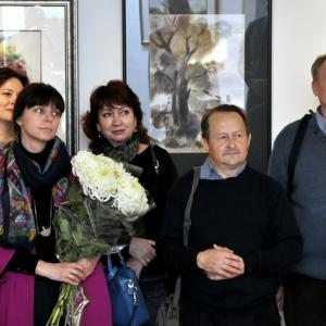 Выставка произведений Сергея Гулевского в Воронеже.
