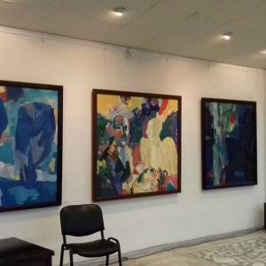 Выставка «Мастер и Ученики» школа Виталия Смагина в Красноярске