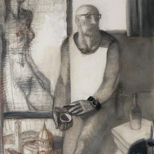 Дмитрий Иконников «Моя Италия (Автопортрет)». 2015 г.