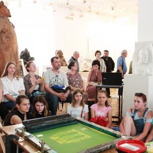 Научно-творческий проект «Диалог через столетие: С.Т. Коненков – Российская академия художеств» в Смоленске.