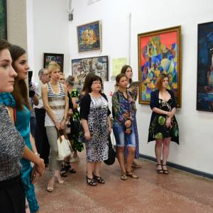 Выставка произведений Николая Ротко в Туле.