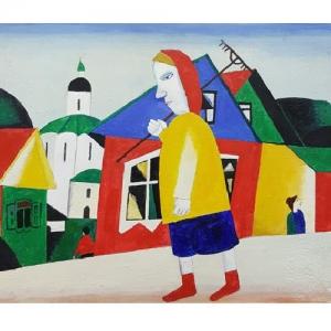 «Русский рай». Выставка произведений Алексея Новикова в Москве.