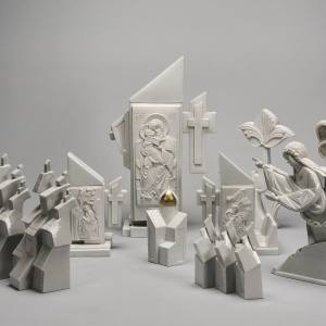 Выставка «Метаморфозы фарфоровой пластики Инны Олевской» в Эрмитаже.