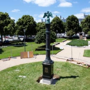 Открытие памятника Русскому экспедиционному корпусу во Франции.