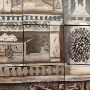 «Течения». Групповая выставка московских художников:  Галины Лопатиной, Владимира Фомичёва, Евгения Верещагина.