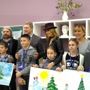 Мастер-класс академиков РАХ для детей с ограниченными возможностями здоровья в Одинцово.