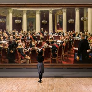 «Илья Репин». Выставка в Государственной Третьяковской галерее
