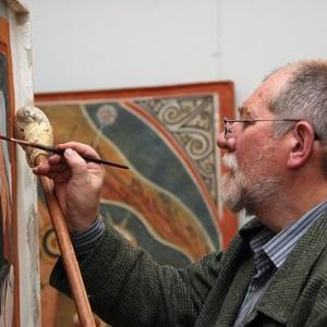 «Русь православная». Выставка произведений Евгения Максимова в Ялте.