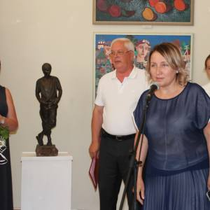 Выставка произведений академиков и художников-стажёров Творческих мастерских РАХ в Севастополе.