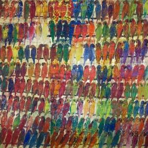 Экзотический мир Ханта Слонема: живопись.