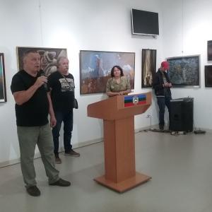 """13.09.2018. Открытие выставки """"Традиции и современность в Черкесске""""."""