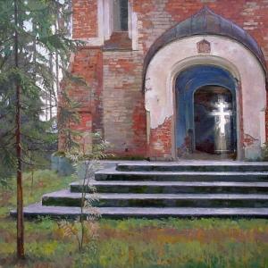 «России светлая печаль».  Выставка произведений Григория Чайникова (1960-2008) в РАХ