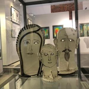 «Стекло. Керамика. Графика». Выставка произведений Любови Савельевой в Щелково