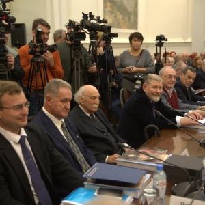 Чествование Т.Т.Салахова на заседании Президиума РАХ 4 декабря 2018 года
