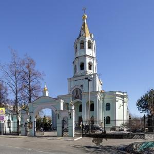 Храм Святителя Николая на Трех Горах.