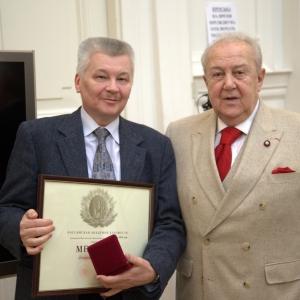 На заседании Президиума Российской академии художеств 12 апреля 2016 года